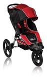 2011 Baby Jogger Summit XC 360 Single Stroller In RedBlack