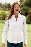 Orvis Women's Wrinkle-Free Pinpoint Stand-Collar Shirt