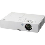 XGA 2 600 Lumens Micro- Portable LCD Projector with Wired LAN