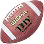 Wilson TDY Youth Leather Football