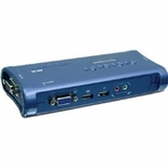 TRENDnet - TK-409K - 4-Port USB KVM Switch Kit with Audio