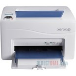 Xerox Phaser 6010N Laser Printer - Color - 600 x 600dpi Print - Plain Paper Print - Desktop - 15ppm Mono/12ppm Color Print - 160 sheets Input - Manual Duplex Print - LCD - Fast Ethernet - USB (6010/N)