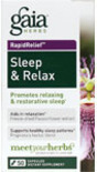 Sleep & Relax 50 Caps - Gaia Herbs