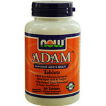 NOW Foods by Now ADAM Superior Men's Multiple Vitamin- 60 Tablets