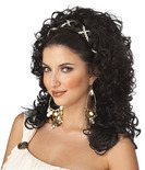 Dark Brown Grecian Goddess Wig