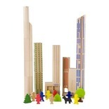 Haba - Wooden Blocks - Skyscrapers