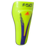 adidas F50 Pro Lite Shinguard - Electricity/Anodized Purple/Infrared