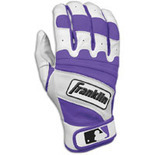 Franklin Natural II Batting Gloves - Mens - Pearl/Purple